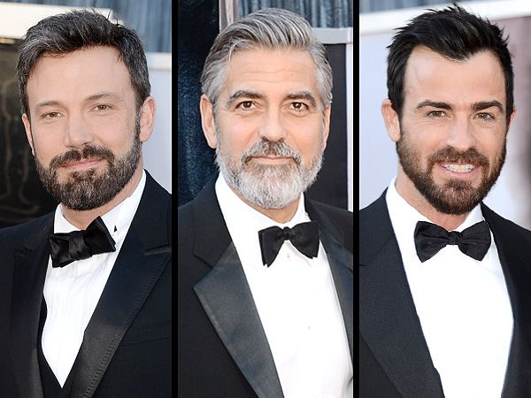 """The Hottest Accessory on the Oscars Red Carpet: A Sexy Beard""  ...and katie like ;D"