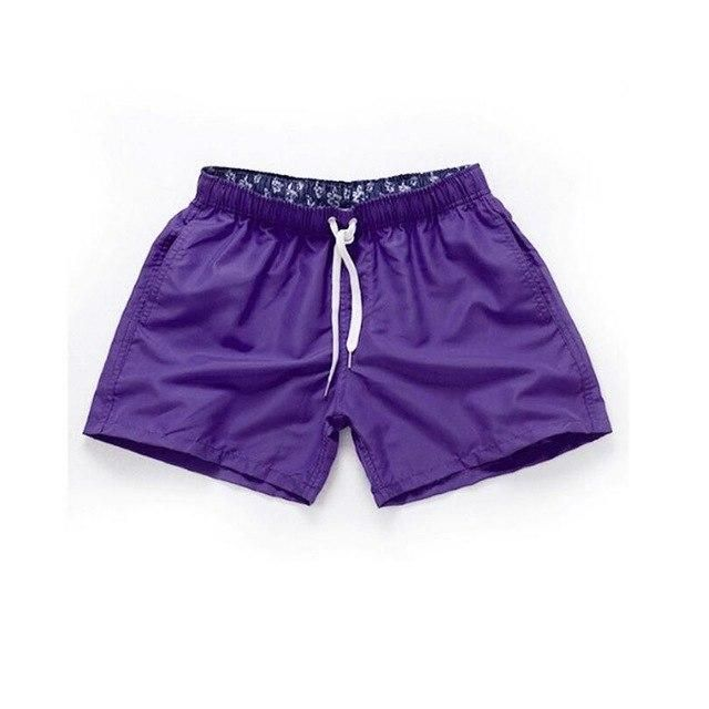 Visnxgi Men Summer Casual Shorts Men Fit Solid 16 Color Available Shorts Loose Elastic Waist Breathable Beach Shorts Q196 Green