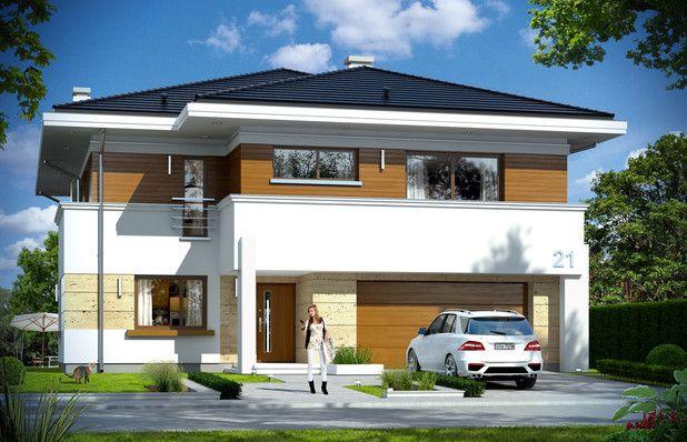TMU-687:Pełnowymiarowe pomieszczenia bez skosów.Wszechstronne i funkcjonalne wnętrza. Zobaczcie ponad 60 m² salon!