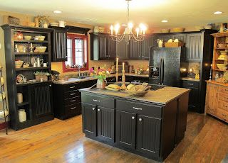 Gorgeous country kitchen!