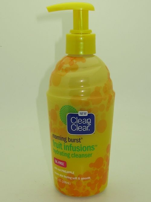 Clean & Clear Fruit Infusions Hydrating Cleanser Review
