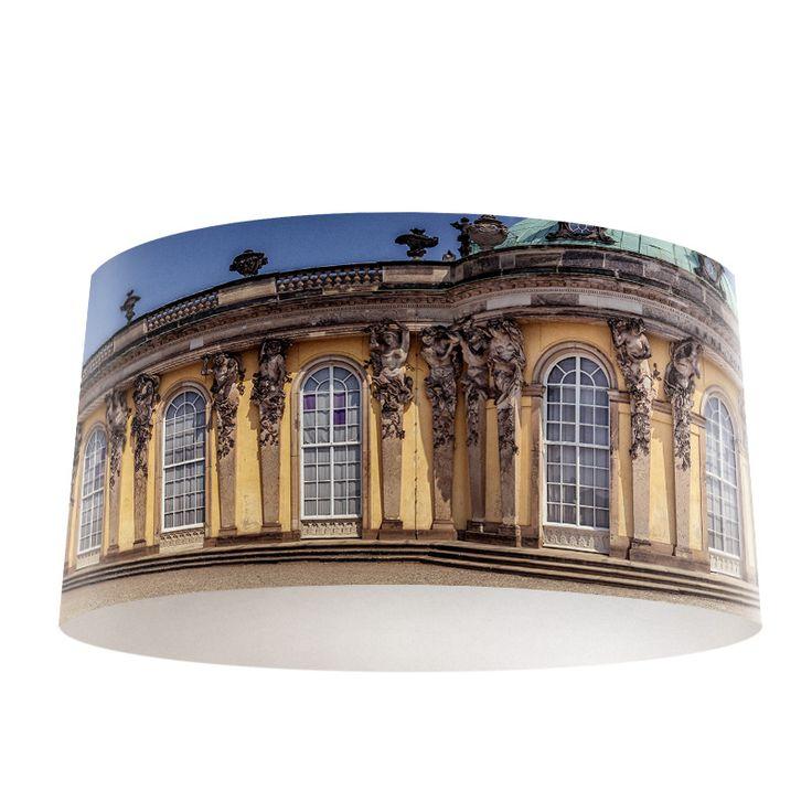 Lampenkap Italiaans gebouw | Bestel lampenkappen voorzien van digitale print op hoogwaardige kunststof vandaag nog bij YouPri. Verkrijgbaar in verschillende maten en geschikt voor diverse ruimtes. Te bestellen met een eigen afbeelding of een print uit onze collectie.  #lampenkap #lampenkappen #lamp #interieur #interieurdesign #woonruimte #slaapkamer #maken #pimpen #diy #modern #bekleden #design #foto #italie architectuur #gebouw #italiaans
