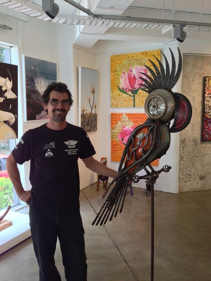 Chris Hartshorn and his amazing new creation