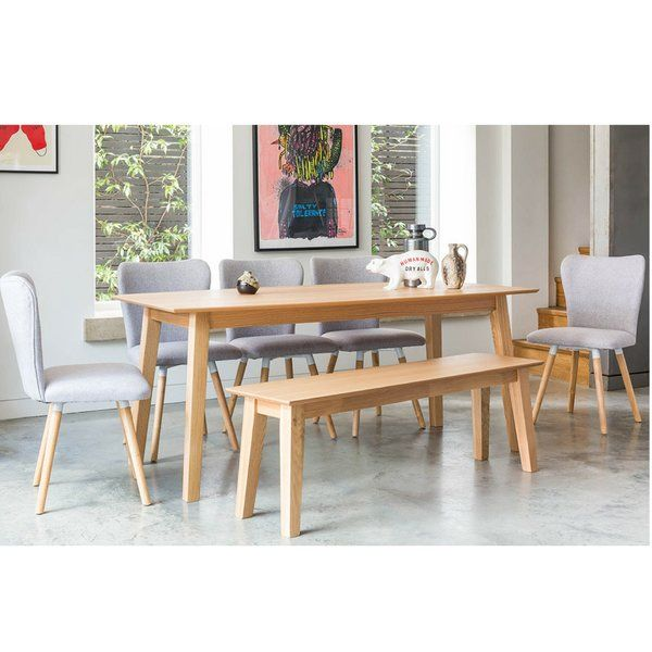 Hannah Dining Set With 2 Benches Dining Table Dining Dining Set