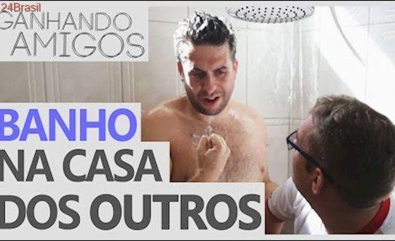 Ganhando Amigos #01 - BANHO NA CASA DOS OUTROS (Araçatuba, SP)