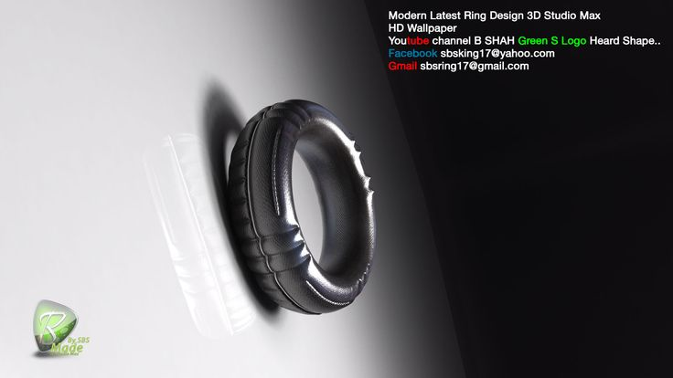New Latest Ring Design Snake Ring Shape Modern Model View 3d max hd wallpaper Made By All 3D Max SBS