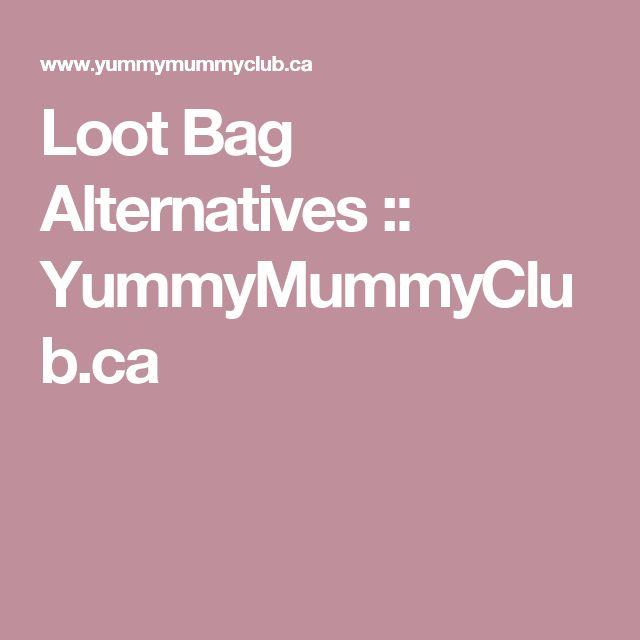 Loot Bag Alternatives :: YummyMummyClub.ca