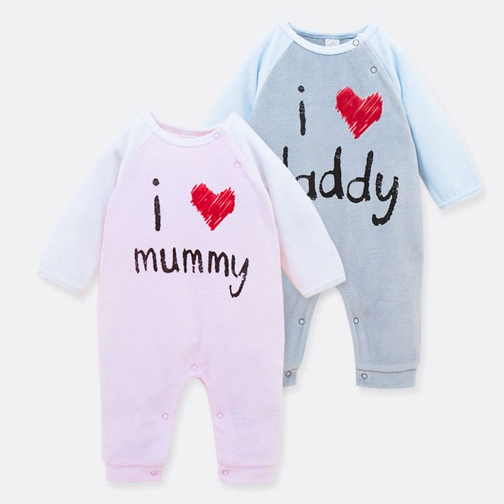 100% Cotton Newborn Baby girl clothes baby Rompers mummy Baby Body Suit Long Sleeve baby costume roupas de bebe