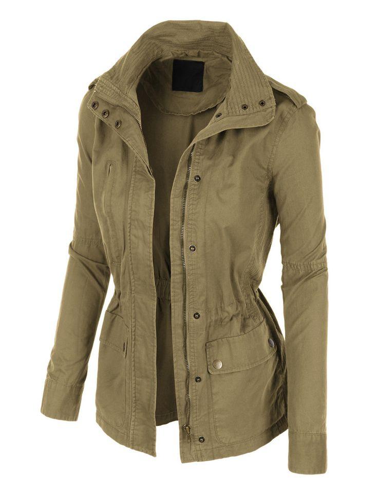 Women safari jacket