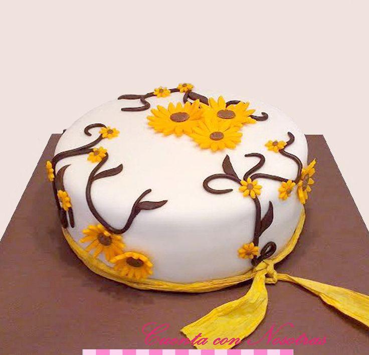 Torta Maravillas Torta Flores de Maravillas Torta Girasol