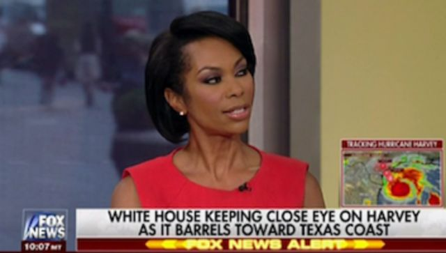 Trump Sycophant Harris Faulkner Gushes Over Trump's Readiness For Harvey (Ignores Red Flags)
