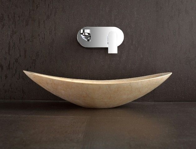 Nero   Designer Above Counter Natural Limestone Basin For Modern Bathroom  Decoration By Nova Deko Part 14