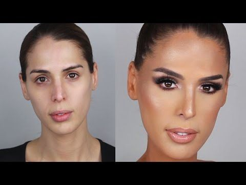 Bronze Glowy Skin Makeup Tutorial with Carmen Carrera | PatrickStarrr - YouTube