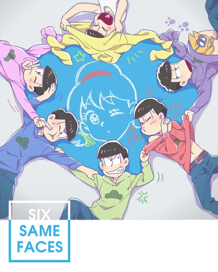 おそ松さん Osomatsu-san SIX SAME FACES