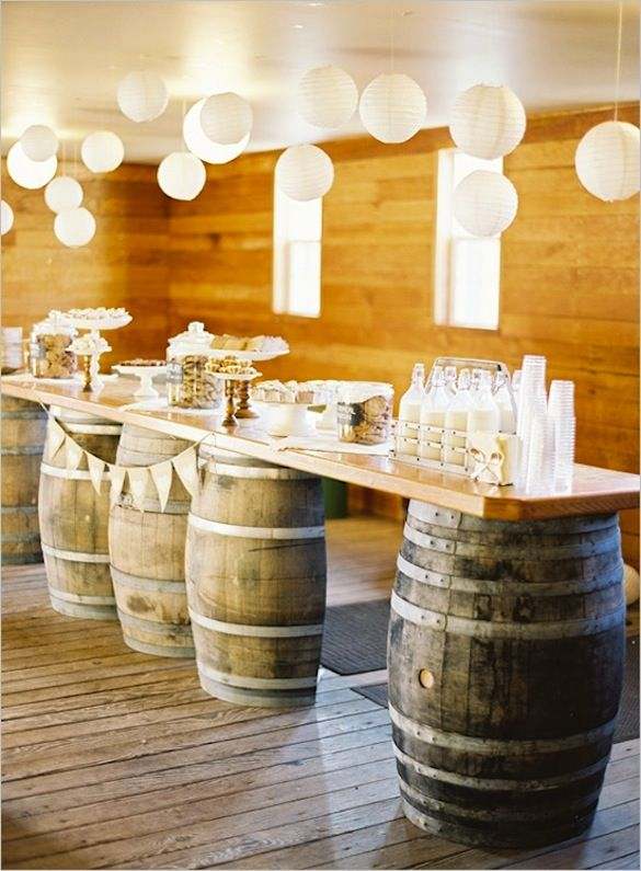 Image result for bourbon party table