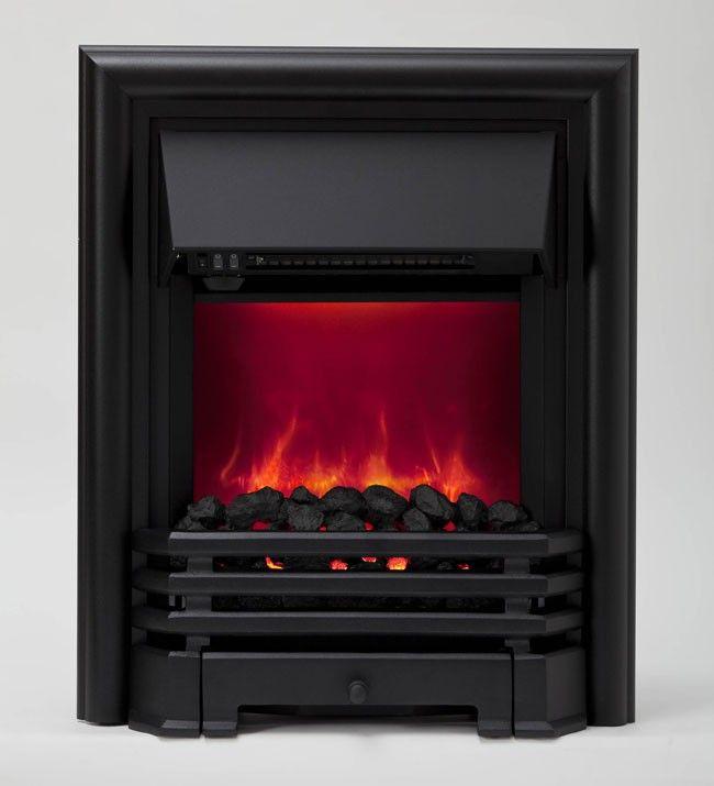 Be Modern Savannah Inset Electric Fire - Black