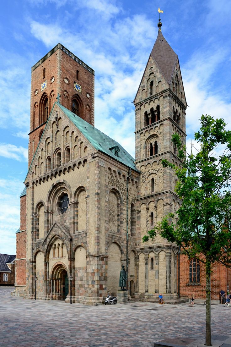 Ribe Cathedral, Ribe, Denmark The 1st Christian Church built in Denmark. A Catholic monk brought Christianity to Denmark in 826 and a request for a church was made to the King of Denmark and was built from 1150-1250.
