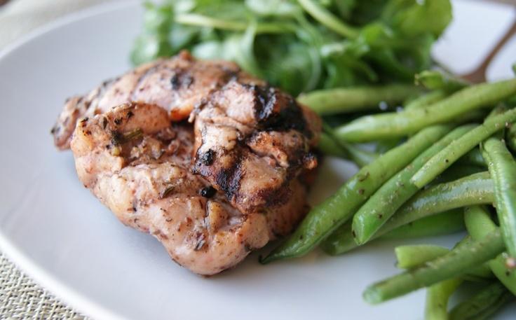 grilled chicken za'atar | Chicken | Pinterest