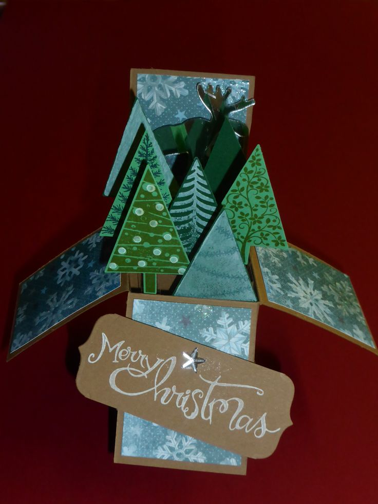 Christmas Card in a Box   Box cards   Pinterest   Box, Cards and ...