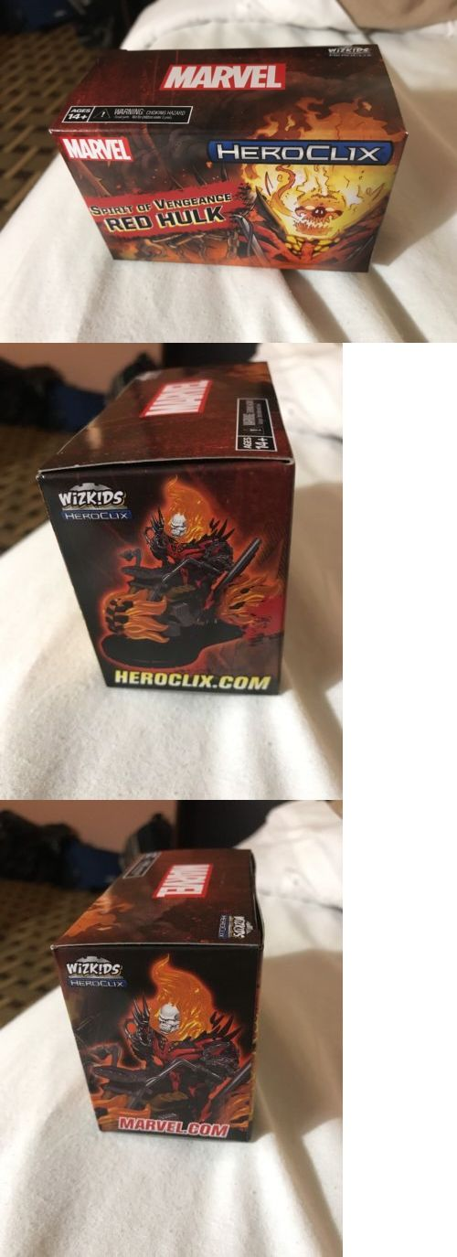 Marvel 44002: Heroclix Spirit Of Vengeance Red Hulk Convention Exclusive!! Unopened! -> BUY IT NOW ONLY: $34.99 on eBay!