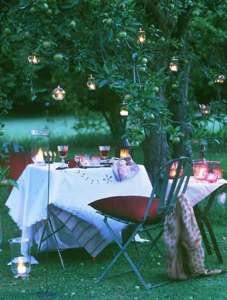 Nostalgia: Evening Garden Party