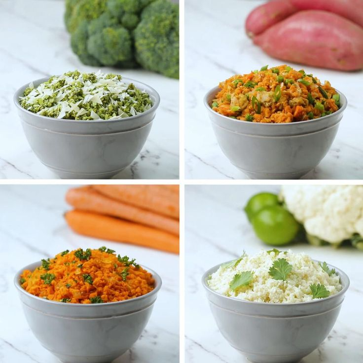 Veggie Rice 4 Ways