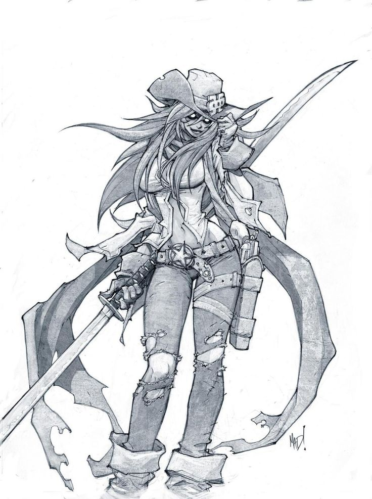 Cannon Busters - Tieford by Joe Madureira *