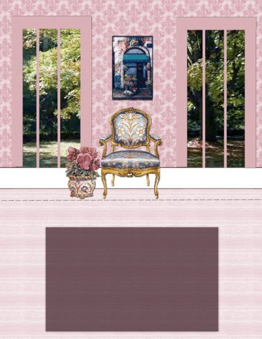 Best 25 paper doll house ideas on pinterest cut paper for Living room paper