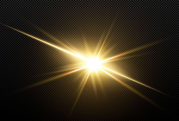 Shining Golden Stars Isolated Light Background Images Golden Star Light Painting Photography
