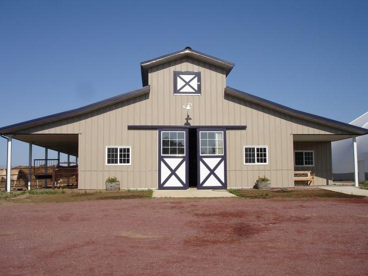 Horse Pole Barn Plans