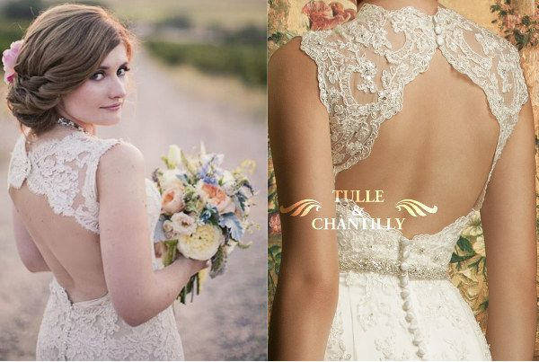 Bridal Inspiration: Country Style Wedding Dresses | http://www.tulleandchantilly.com/blog/bridal-inspiration-country-style-wedding-dresses/