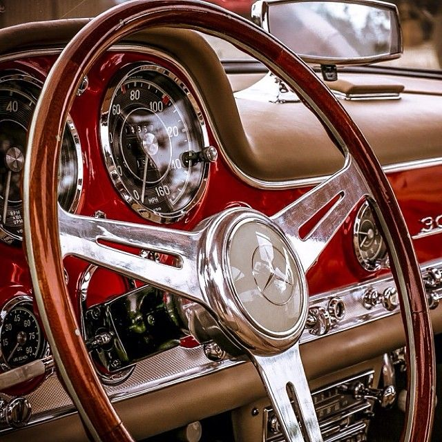 Perfection. c/o @Mercedes-Benz Classic Center #mercedes #benz #instacar