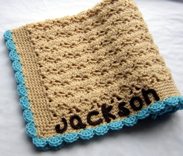 Personalized Baby Blanket - Monogram Baby Blanket ...