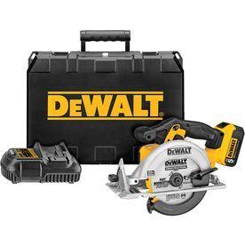 Dewalt Xr 20-Volt Max 6-1/2-In Cordless Circular Saw 1