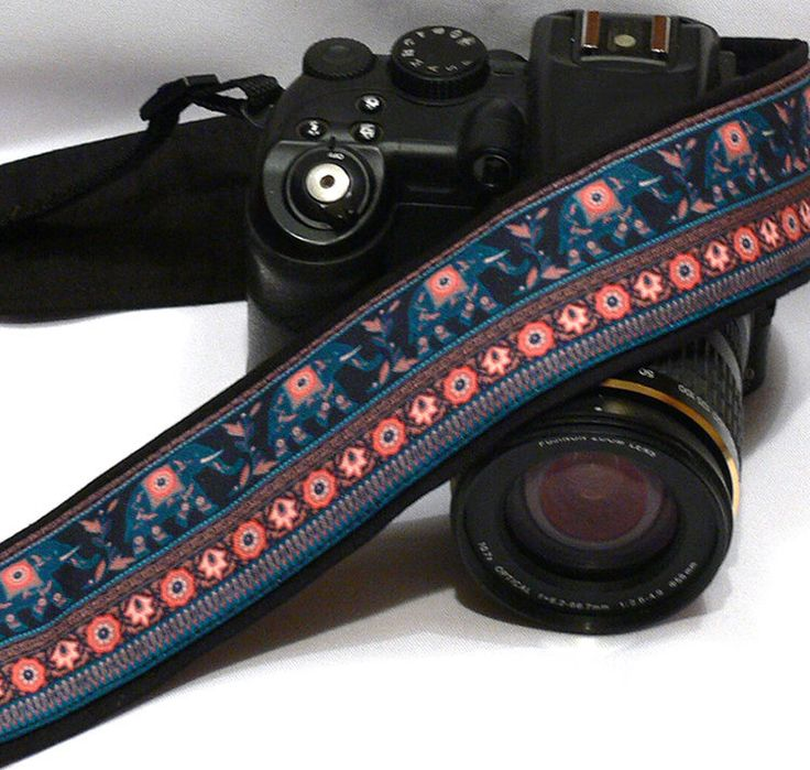 Camera Strap. Lucky Elephants Camera Strap. dSLR Camera Strap. Canon, Nikon Camera Strap. Camera Accessories. TZ02 by LiVeCameraStraps on Etsy https://www.etsy.com/listing/228285473/camera-strap-lucky-elephants-camera