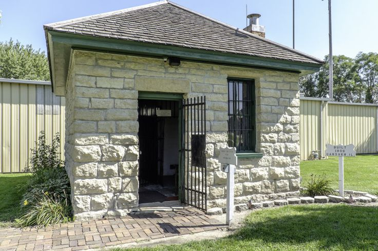 2-cell jail (1906) - Gardner, Illinois | Illinois ...