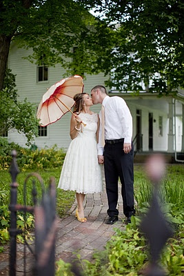 5 Year Anniversary Photo Idea Fancy White Lace Dress For Me Shirt Tie Him