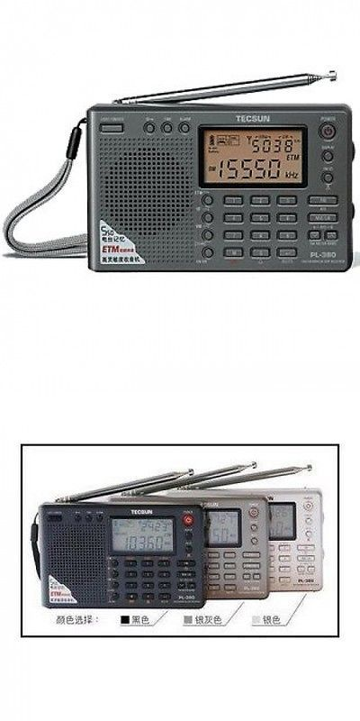 Portable AM FM Radios: Tecsun Radio Pl-380 Dsp Fm Am Stereo World Band Receiver,Small Size Radio BUY IT NOW ONLY: $59.6