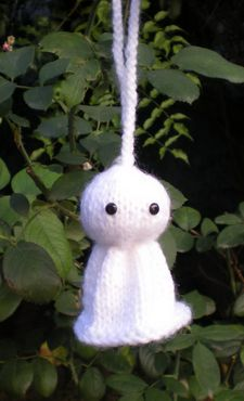 teru teru bozu amigurumi ghost knit knitting free pattern