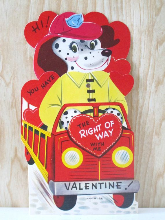Firemen Valentines