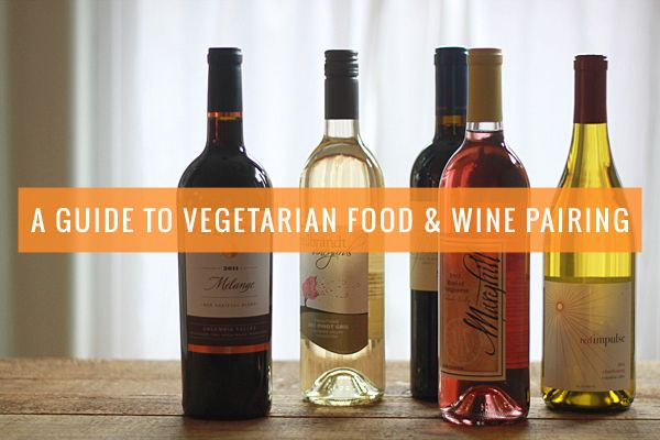 A guide to vegetarian food and wine pairing. Learn how to select the best wines for your vegetarian and vegan meals using this guide.