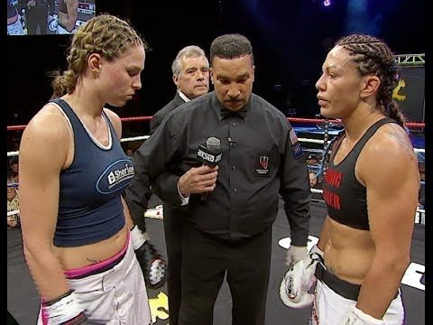 Jorina Baars Defeats Cris Cyborg at Lion Fight 14 on AXS TV - YouTube