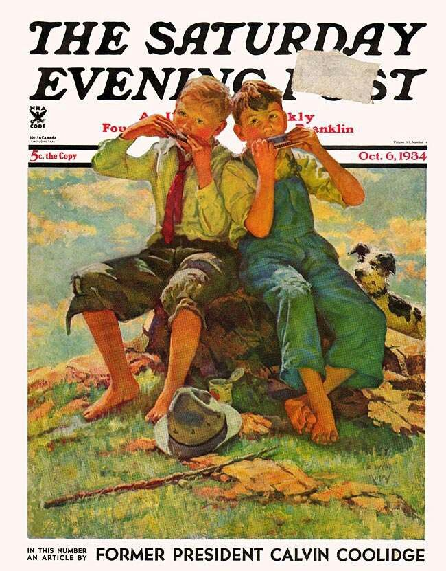 The Saturday Evening Post | June 1932 at Wolfgangs