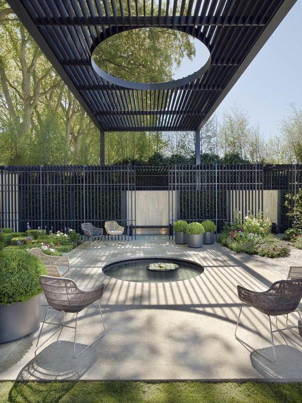 85 best pergolas ombrages images on pinterest vivre. Black Bedroom Furniture Sets. Home Design Ideas