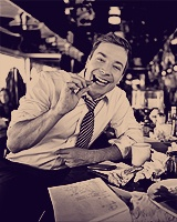 Just Jimmy Fallon looking fun and cute