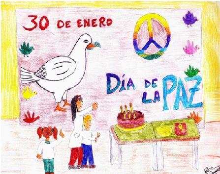 Cuento infantil: Alfonso y el Día de la Paz Alfonso ha llegado a casa después del colegio, está emocionado porque han celebrado el día de la paz y además, también su cumpleaños. Su mamá le ha compr...