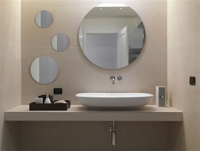Bagno specchio tondo cerca con google specchi bagno for Specchi per bagno