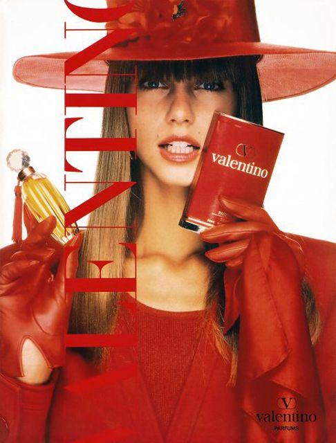 ROBERTA CHIRKO Valentino Parfum Ad 1989