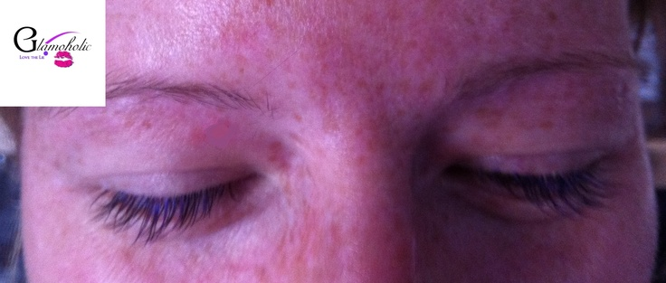 Xtreme Lashes with hints of purple extensions;)