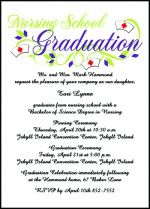 62 best Nurse Pinning Ceremony Invitations Nursing Announcements